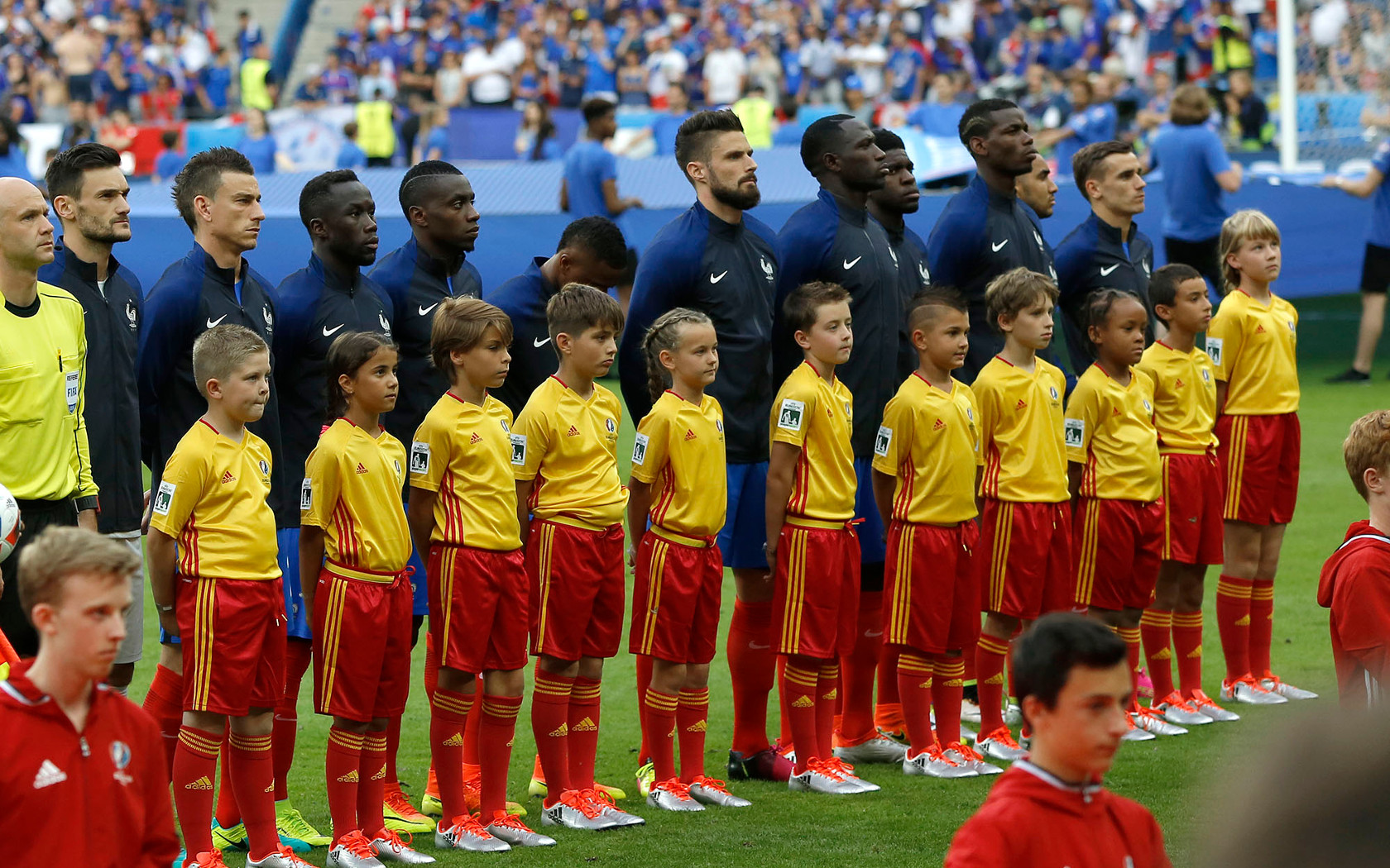 Live! Proud to have organized the McDonald's Player Escort program during UEFA Euro 2016