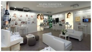 HELENA RUBINSTEIN – SHOWROOM