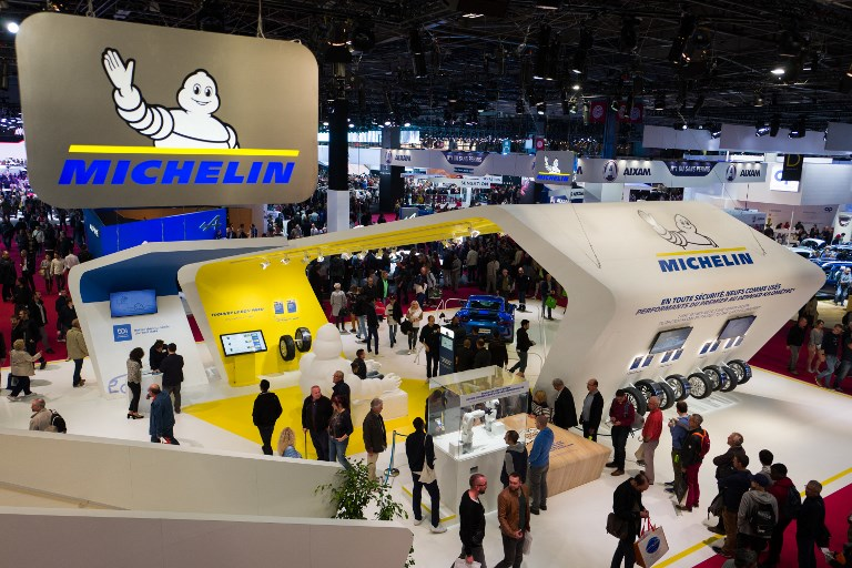 World Auto 2018 : Michelin Stand